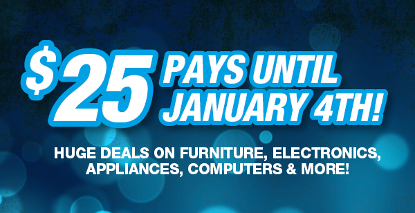 $25 pays until January 4th